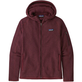 Patagonia Better Sweater Capuchon Jas Dames, chicory red